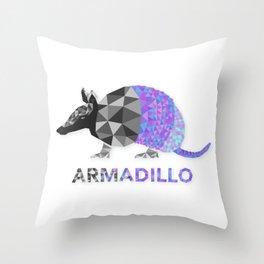Angular Armadillo Throw Pillow