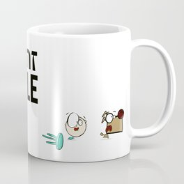 "Dialog with the dog N53 - ""Happy Baby"" Coffee Mug"