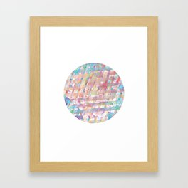 Pinkeye Framed Art Print