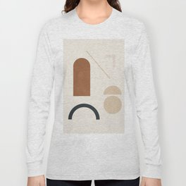 Geometric Modern Art 32 Long Sleeve T-shirt