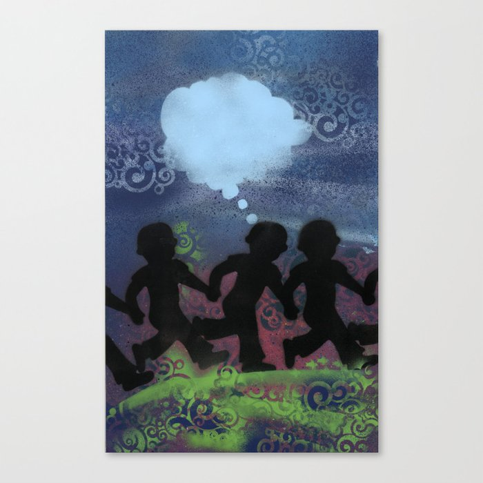 Boys Ban Together Canvas Print