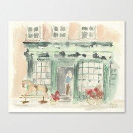 Covent Garden Shop Canvas Print