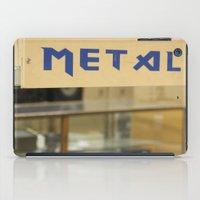 metal iPad Cases featuring Metal by Bingz