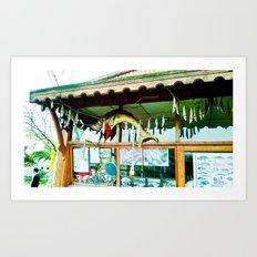 Pretty storefront. Art Print