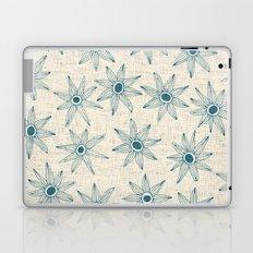 sema cream blue Laptop & iPad Skin