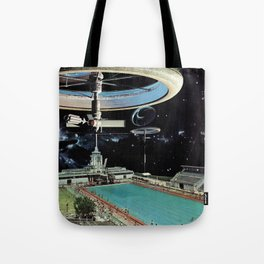 A Pool Out Back Tote Bag