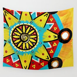 Be Yourself Mandala Wall Tapestry