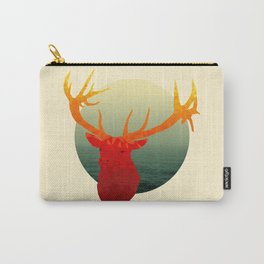 Polygon Deer // Stag Carry-All Pouch