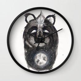 Selene the Moon Bear. Wall Clock