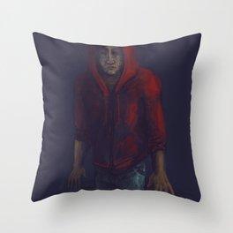 Tangata Whenua Throw Pillow