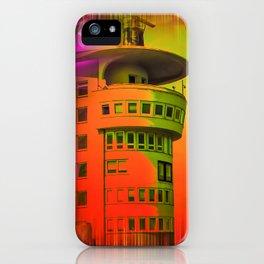 Lighthouse romance17 iPhone Case