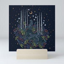 Midnight Exploration Mini Art Print