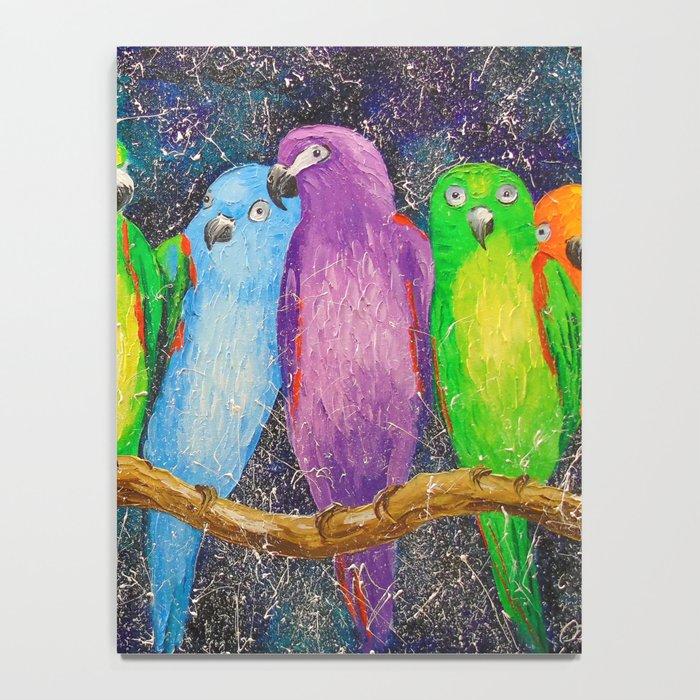 Parrots friends Notebook
