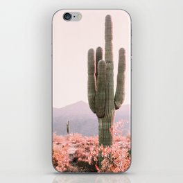 Vintage Cactus iPhone Skin