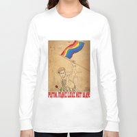 putin Long Sleeve T-shirts featuring Putin Propaganda by Cisternas
