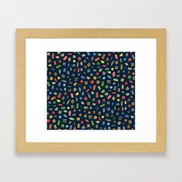 African Beads Framed Art Print