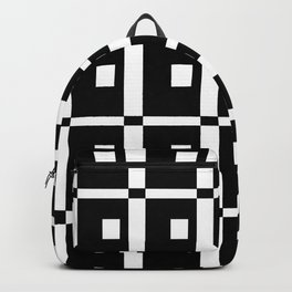 Tribute to mondrian 1- piet,geomtric,geomtrical,abstraction,de  stijl,composition. Backpack