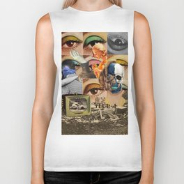 stagnant composition Biker Tank