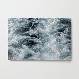 rushing ocean Metal Print