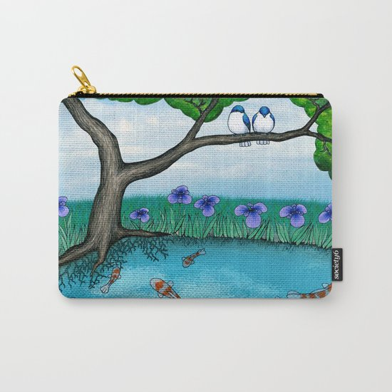 the pond Carry-All Pouch