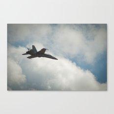 Swiss Airforce F-18 Hornet #2 Canvas Print