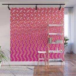 Pink Tangerine Twist Wall Mural