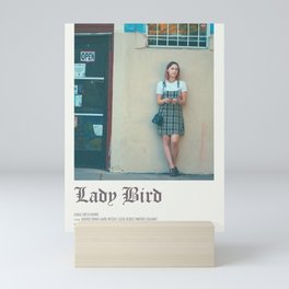 Lady bird poster Mini Art Print