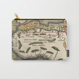Map Of Africa 1513 Carry-All Pouch