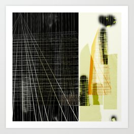 Archeology and Architecture | Art Print