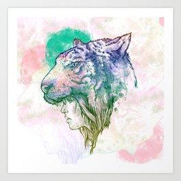 TiGirl Art Print