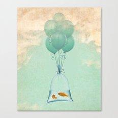 flight to freedom Canvas Print