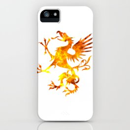 Dragon Fire Viking Symbol Blood Norse Vikings Gift iPhone Case