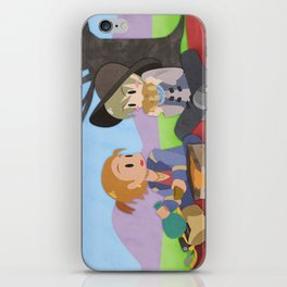 Dragon Age - Varric and Cole Picnic iPhone Skin