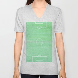 football Unisex V-Neck