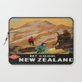 Vintage poster - New Zealand Laptop Sleeve