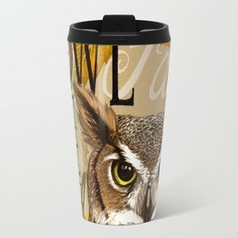 The Great Horned Owl Travel Mug