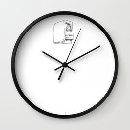 Hello Macintosh Wall Clock