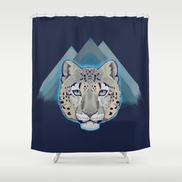 Can You See Meow? Shower Curtain