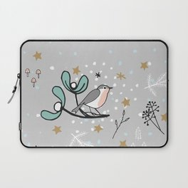 Scandinavian birds Laptop Sleeve