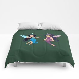 Vidia and Silvermist Comforters