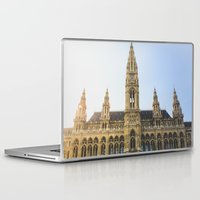 vienna Laptop & iPad Skins featuring Rauthaus | Vienna by Carrie Baker