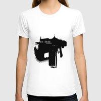 gears of war T-shirts featuring gears of war lancer silhouette by jjb505