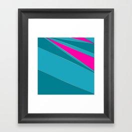 Combined geometric pattern 2 Framed Art Print