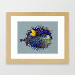 Mr. Puff Framed Art Print