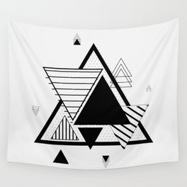 Triangle Geometric Elements Wall Tapestry