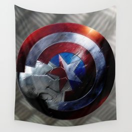 Bucky and Steve  Wall Tapestry