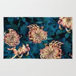 Сhrysanthemums Rug