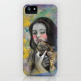 One wish Goldfish iPhone Case