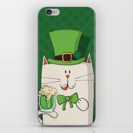 Irish cat iPhone Skin