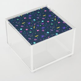 Whimsy Pattern for Fun People Acrylic Box